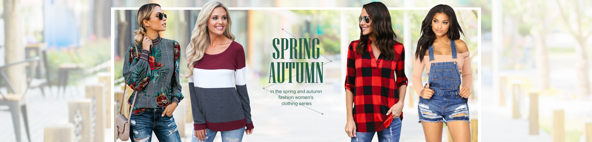 Spring & Autumn Women's Clothing